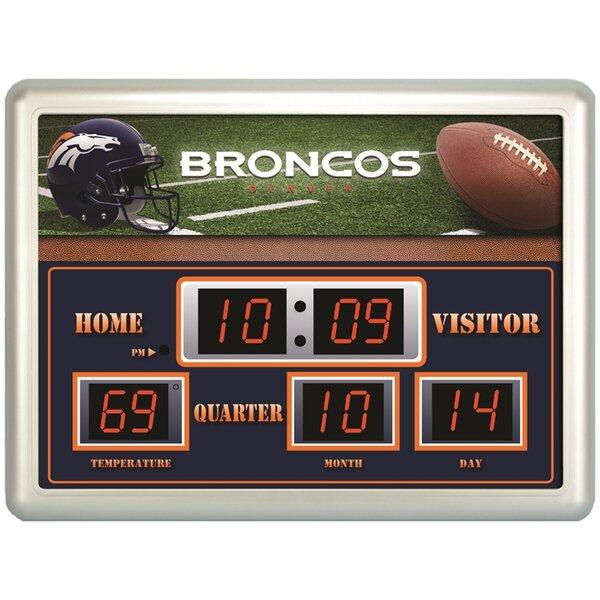 Evergreen Enterprises Inc Denver Broncos Scoreboard Wall