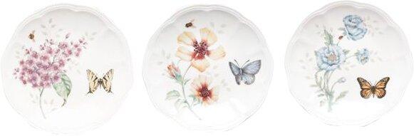 Lenox Butterfly Meadow Salad Or Dessert Plate Set