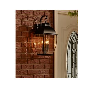 Wilsonville 3-Light Outdoor Wall Lantern