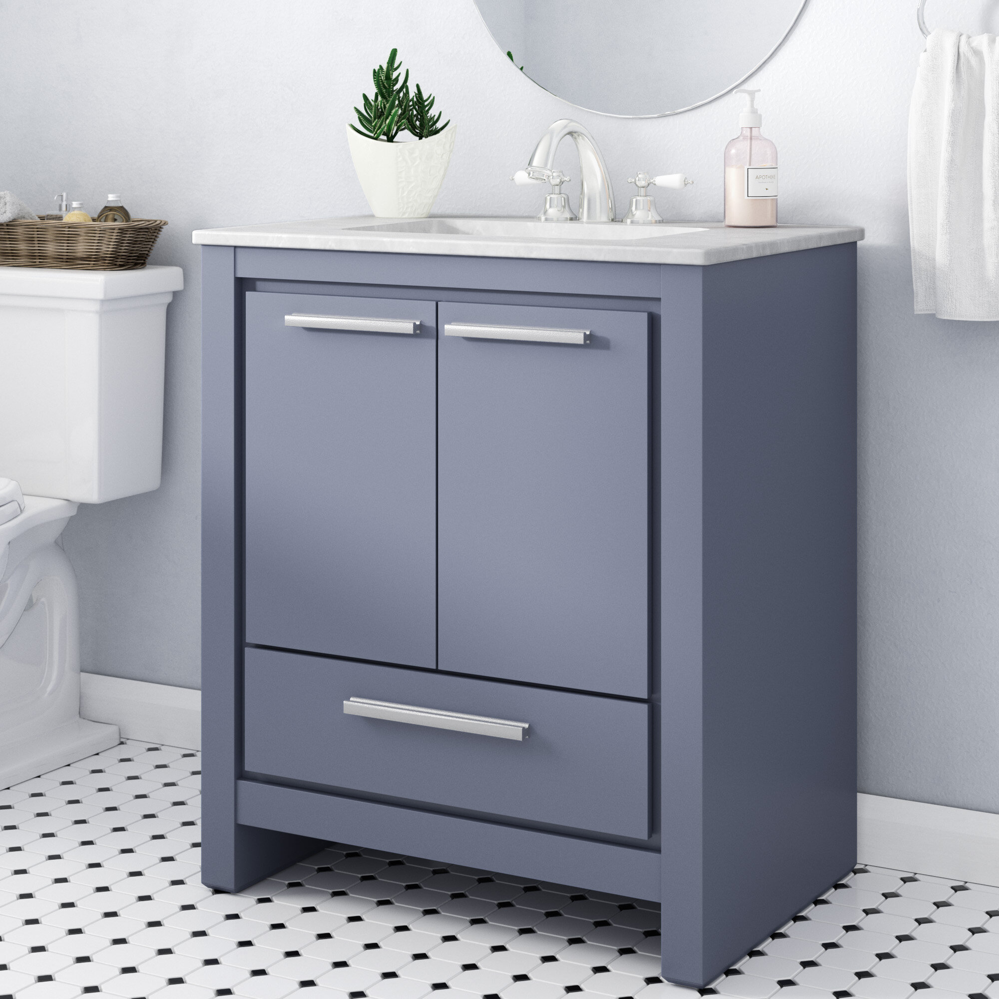 single drawer file chocolate vanity cabinet kbc zelda quartz products inch farmhouse