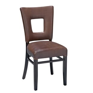 Beechwood Square Open Back Fully Seat Upholstered Dining Chair