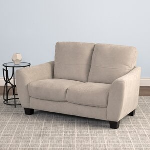 Lacy Chenille Loveseat by Latitude Run