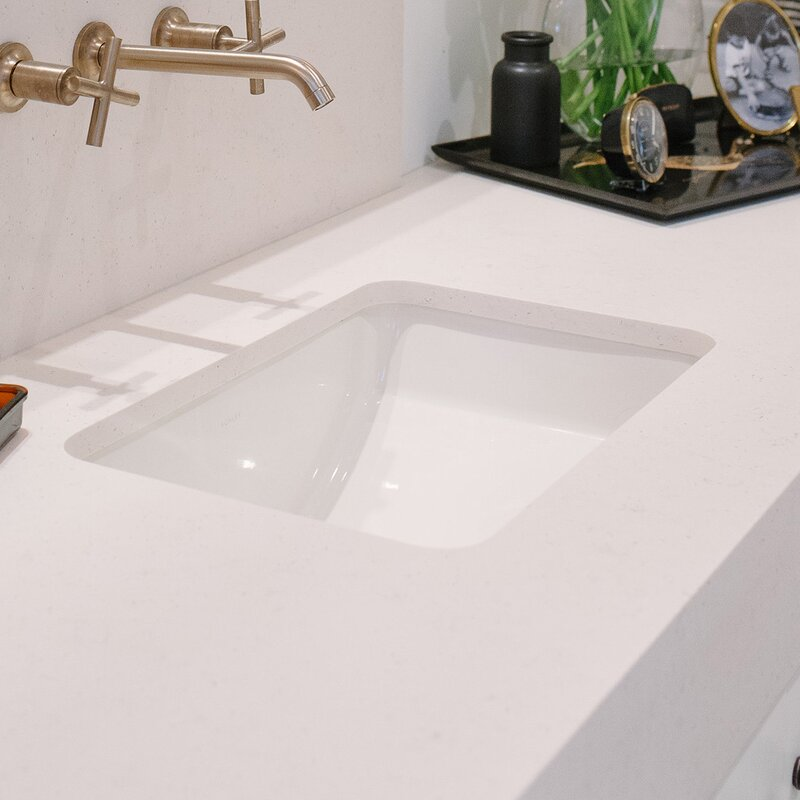 Ladena Ceramic Rectangular Undermount Bathroom Sink. Kohler Ladena Ceramic Rectangular Undermount Bathroom Sink