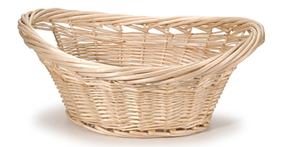 darby home co cottage willow wicker laundry basket wayfair - Wicker Laundry Basket