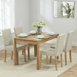 Rory Dining Table And 4 Chairs
