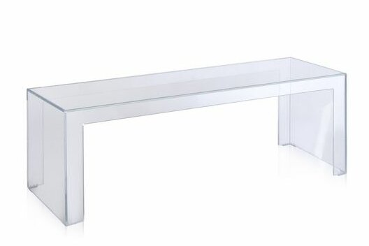 Kartell Ghost Plastic Acrylic Coffee Cocktail Table