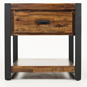 Ailey End Table by Gracie Oaks