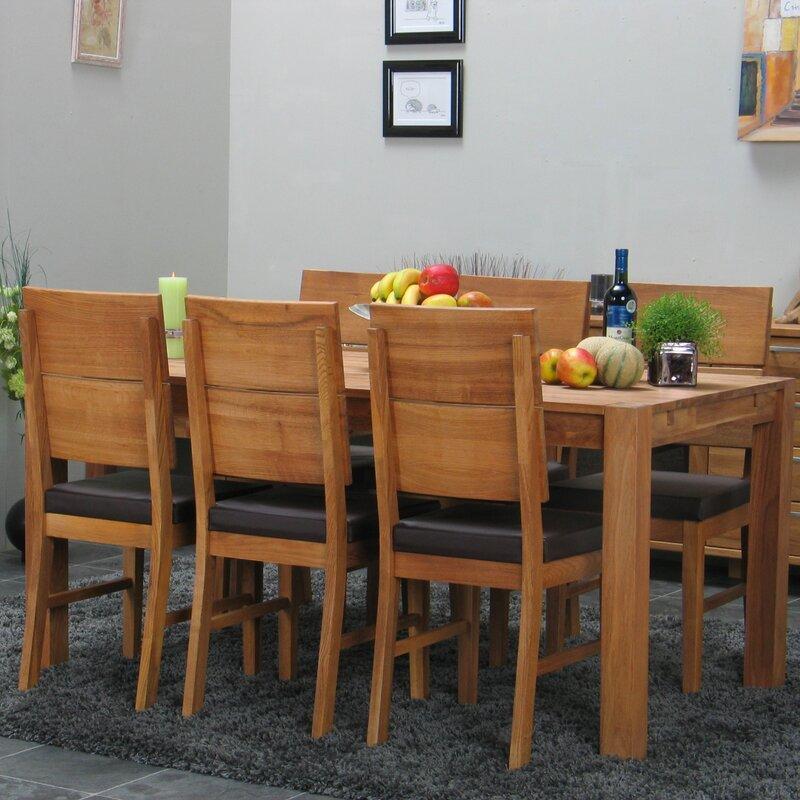 natur pur essgruppe mark mit 6 st hlen bewertungen. Black Bedroom Furniture Sets. Home Design Ideas
