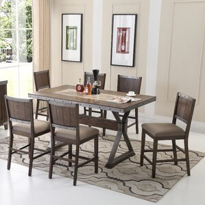 5 Piece Counter Height Dining Set by BestMasterF..