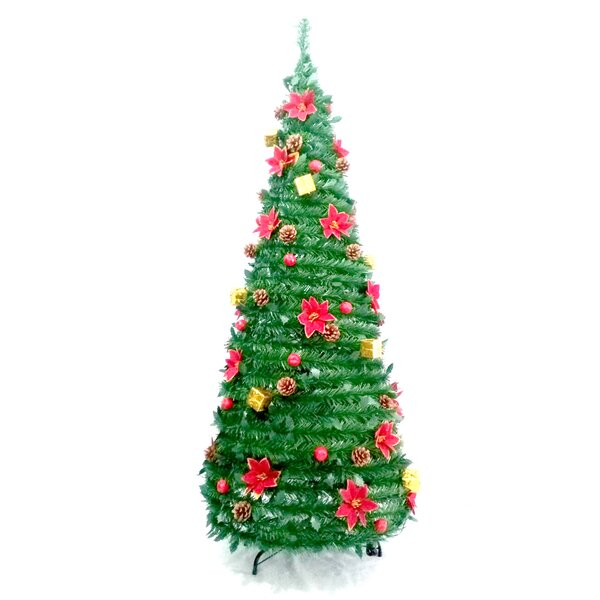 Artificial Christmas Tree Warehouse: The Holiday Aisle Instant Pop Up Green Pine Artificial