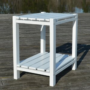 Damariscotta End Table by Breakwater Bay