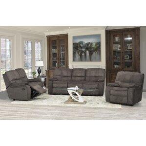 Edmonton 3 Piece Living Room Set by Brassex