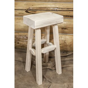 Abella 30 Pine Wood Bar Stool