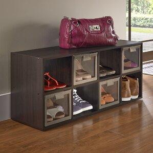 16 pair shoe rack
