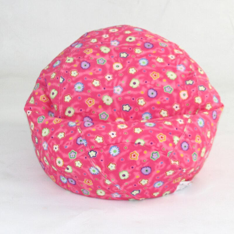 Zoomie Kids Floral Bean Bag Chair Amp Reviews Wayfair