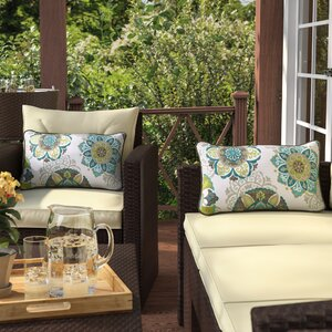 Saxon Outdoor Lumbar Pillow (Set of 2)