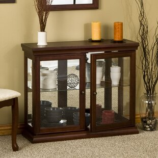Top Lighted Console Curio Cabinets | Wayfair EW13