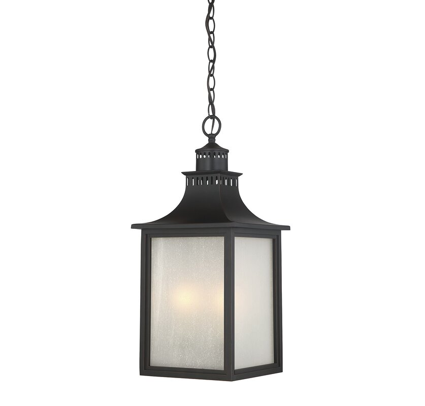 Kennett 3 Light Outdoor Hanging Lantern