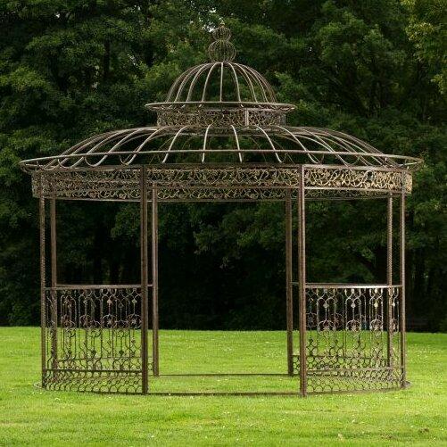 home haus pavillon aus metall. Black Bedroom Furniture Sets. Home Design Ideas