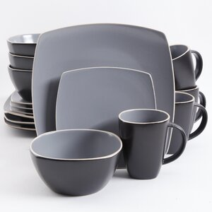 Rue 16 Piece Dinnerware Set, Service for 4