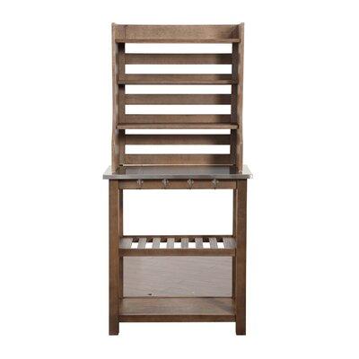 Wood Baker's Rack Burnham Home Designs