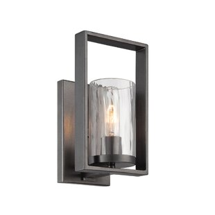 Modern candle wall sconces allmodern kuhle 1 light candle wall light aloadofball Images