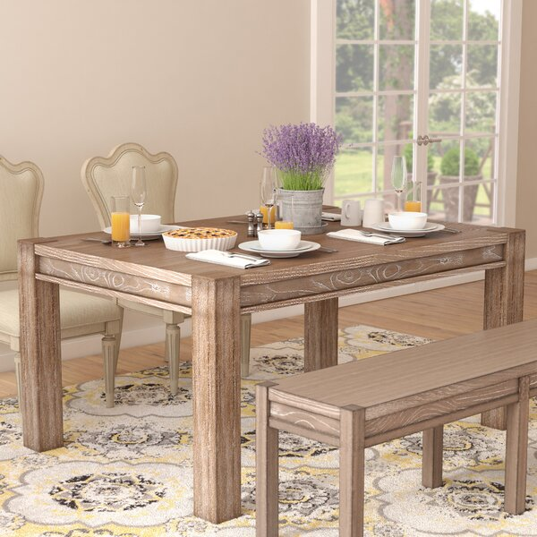 One Allium Way Plessis Extendable Dining Table U0026 Reviews | Wayfair