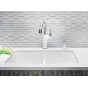 White Kitchen Sink White undermount kitchen sinks youll love wayfair save to idea board workwithnaturefo