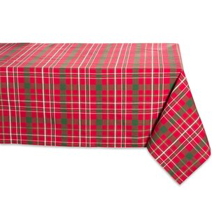 Milla Tartan Holly Plaid Tablecloth