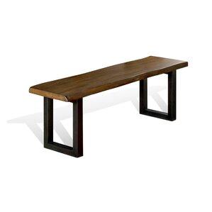 Shamane Wood/Metal Bench