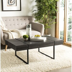 Sonoma Rectangular Industrail Coffee Table by Trent Austin Design