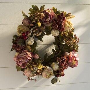 Beau Large Front Door Wreaths | Wayfair