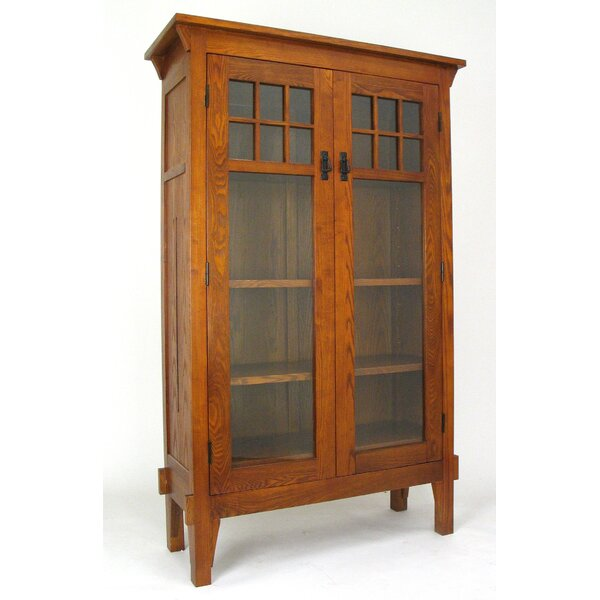 Tall Glass Door Cabinet Wayfair