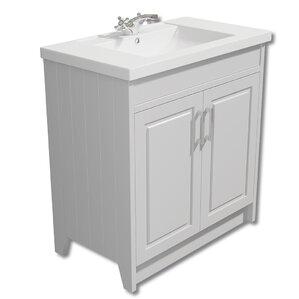 bathroom vanity unit and sink. 79cm single basin vanity unit bathroom and sink t