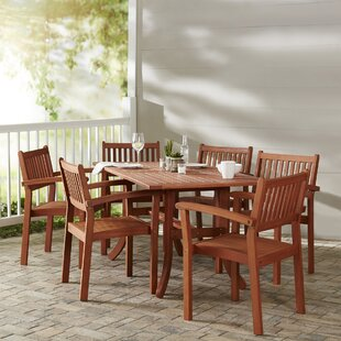 Patio Table Set With Umbrella Wayfair - Wayfair dining room table and chairs