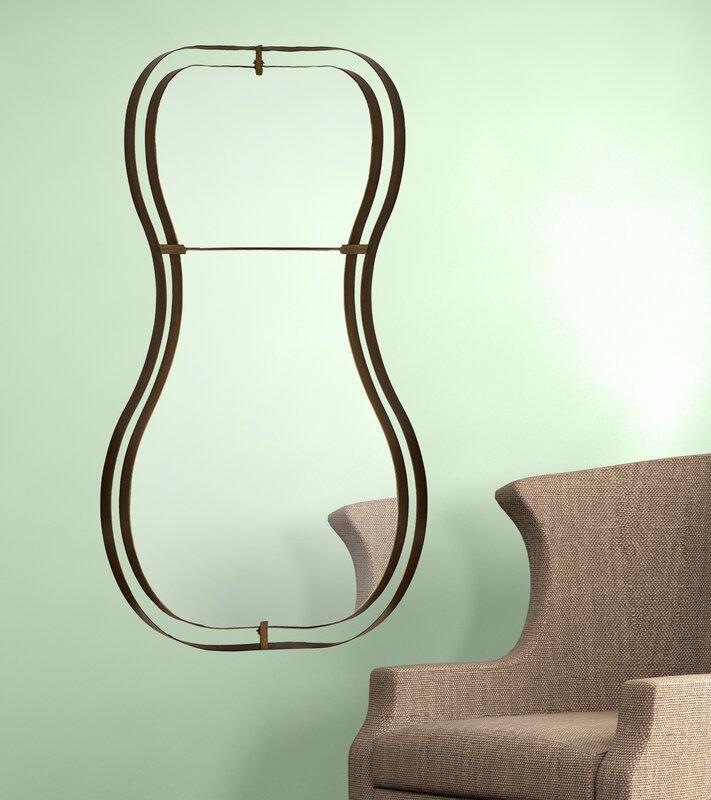 Unique Hourglass Wall Mirror