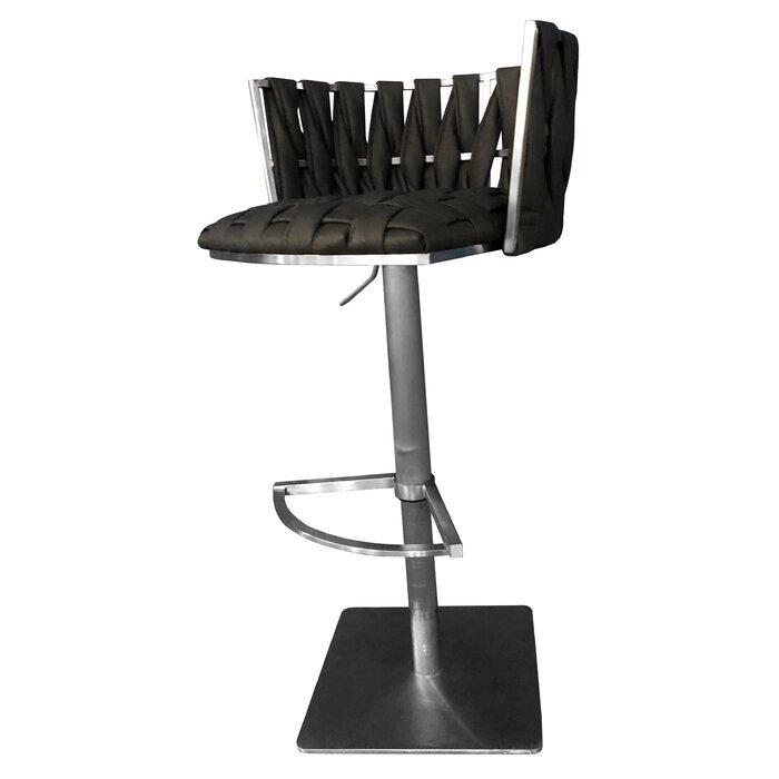 Prime Willmar Adjustable Height Swivel Bar Stool Ncnpc Chair Design For Home Ncnpcorg