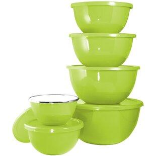 Serving Bowl Set With Lids Wayfair