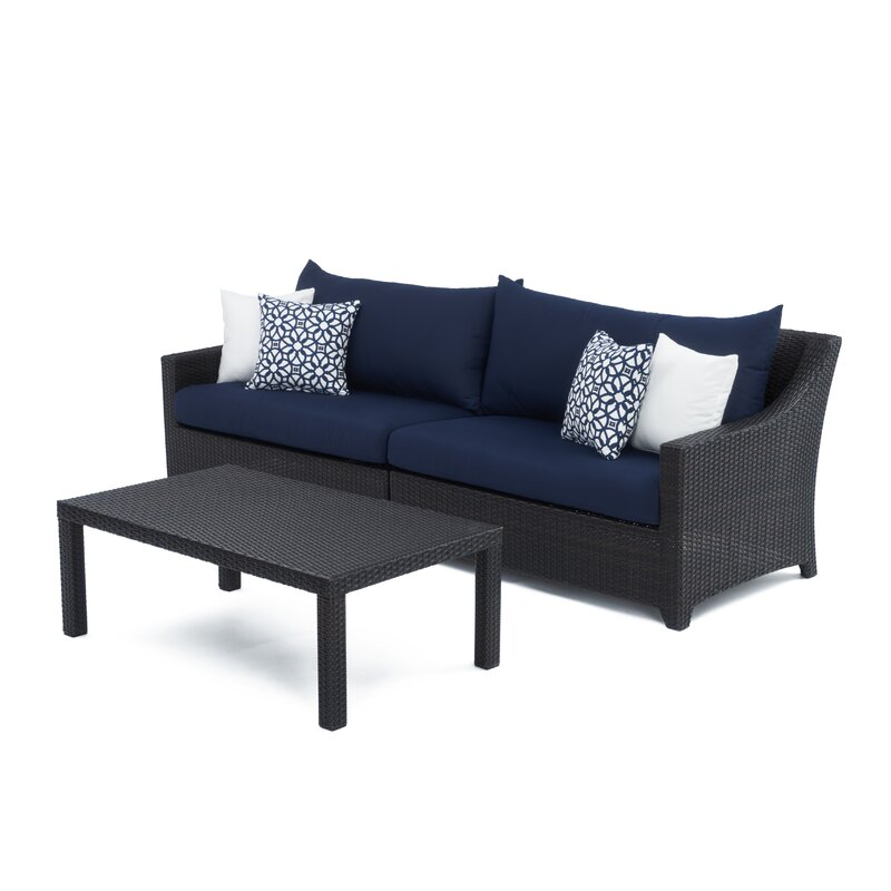 Northridge 20 Piece Rattan Sunbrella Complete Patio Set With Cushions