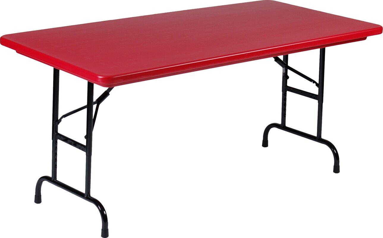 Correll Inc 48 Quot Rectangular Folding Table Amp Reviews