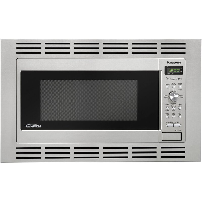 Panasonic 1 6 Cu Ft Microwave 27 Quot Stainless Steel Trim