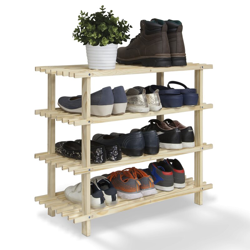 rack non inch woven shoe removable grid fabrics furniture item large layer organizer