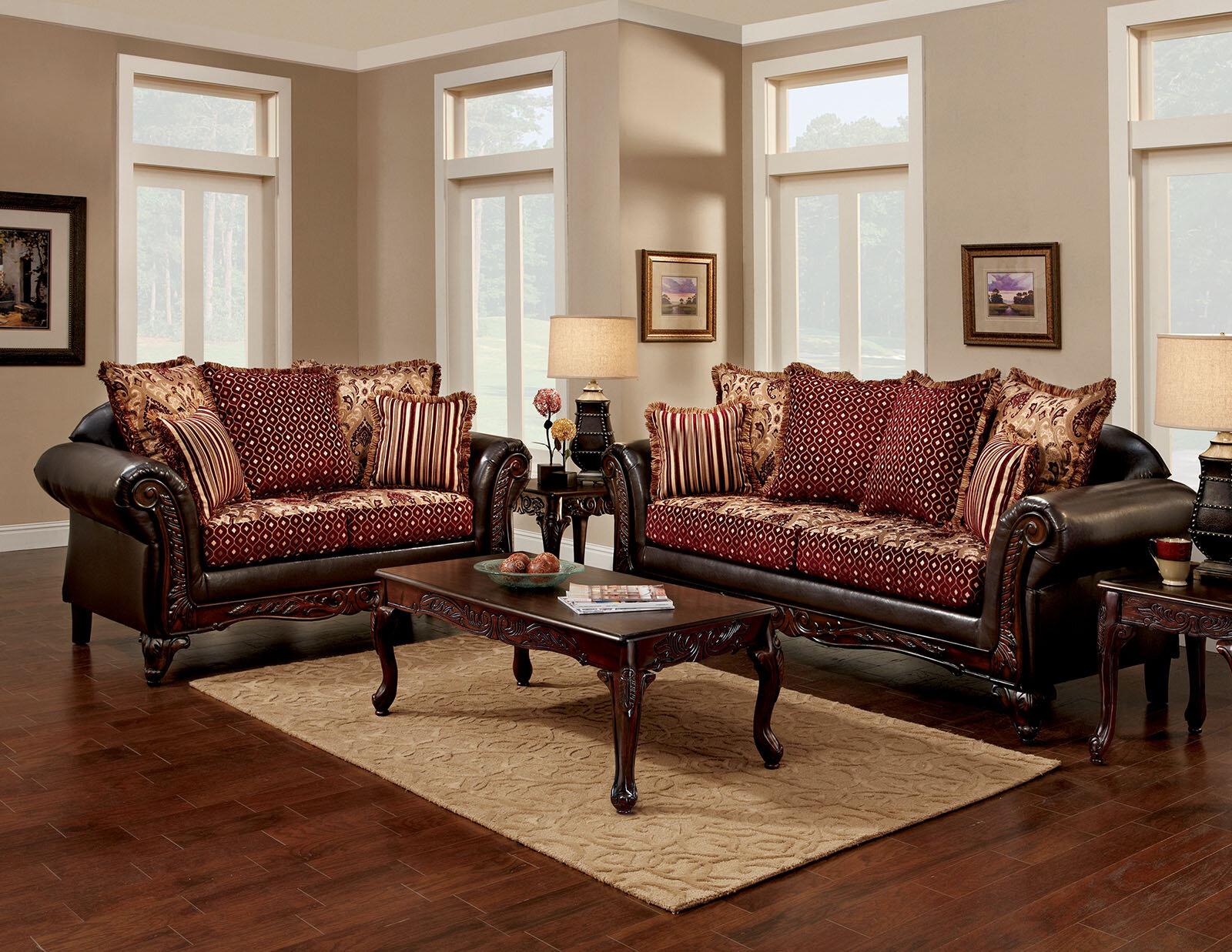 Fleur de lis living charters towers configurable living room set wayfair