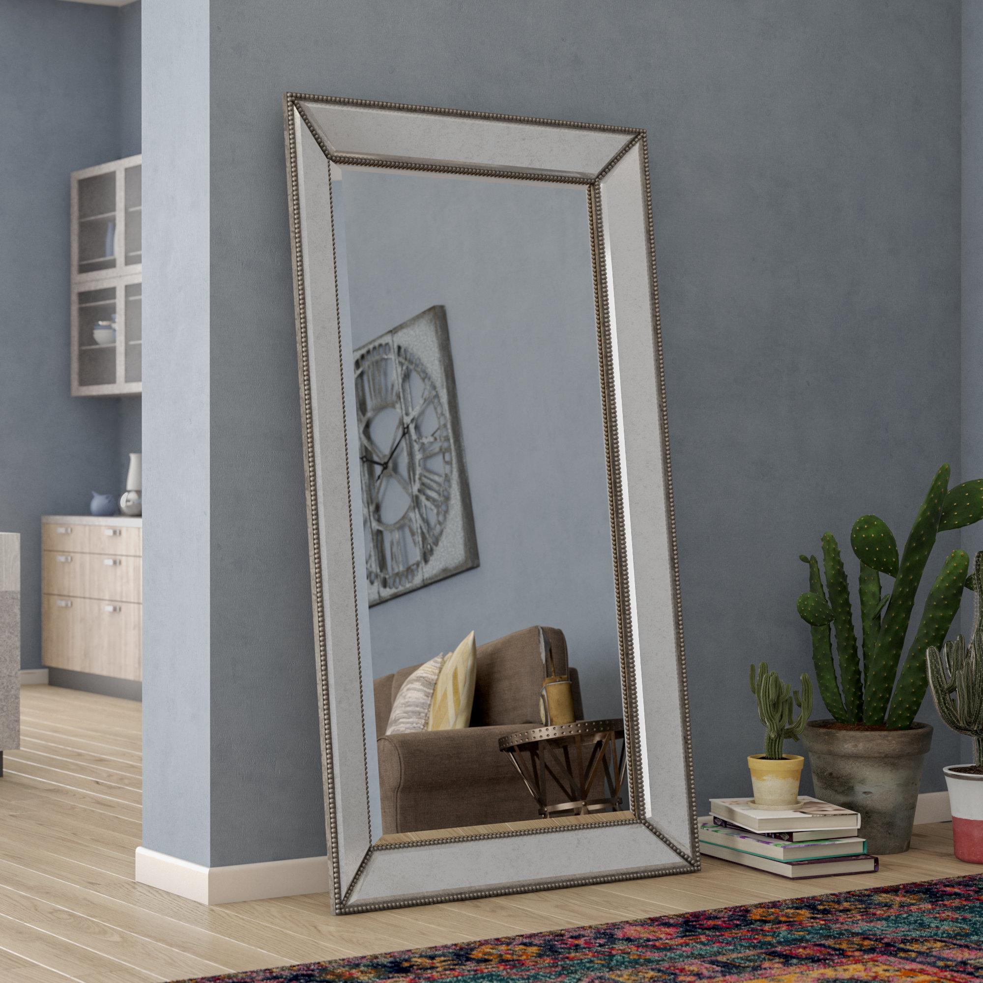 27f84b0255 Trent Austin Design Bemelle Beaded Leaner Mirror   Reviews