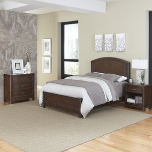 Crescent Hill Panel 3 Piece Bedroom Set