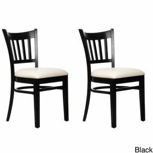 Slatback Solid Beech Wood Chair (Set of 2) by Benkel Seating