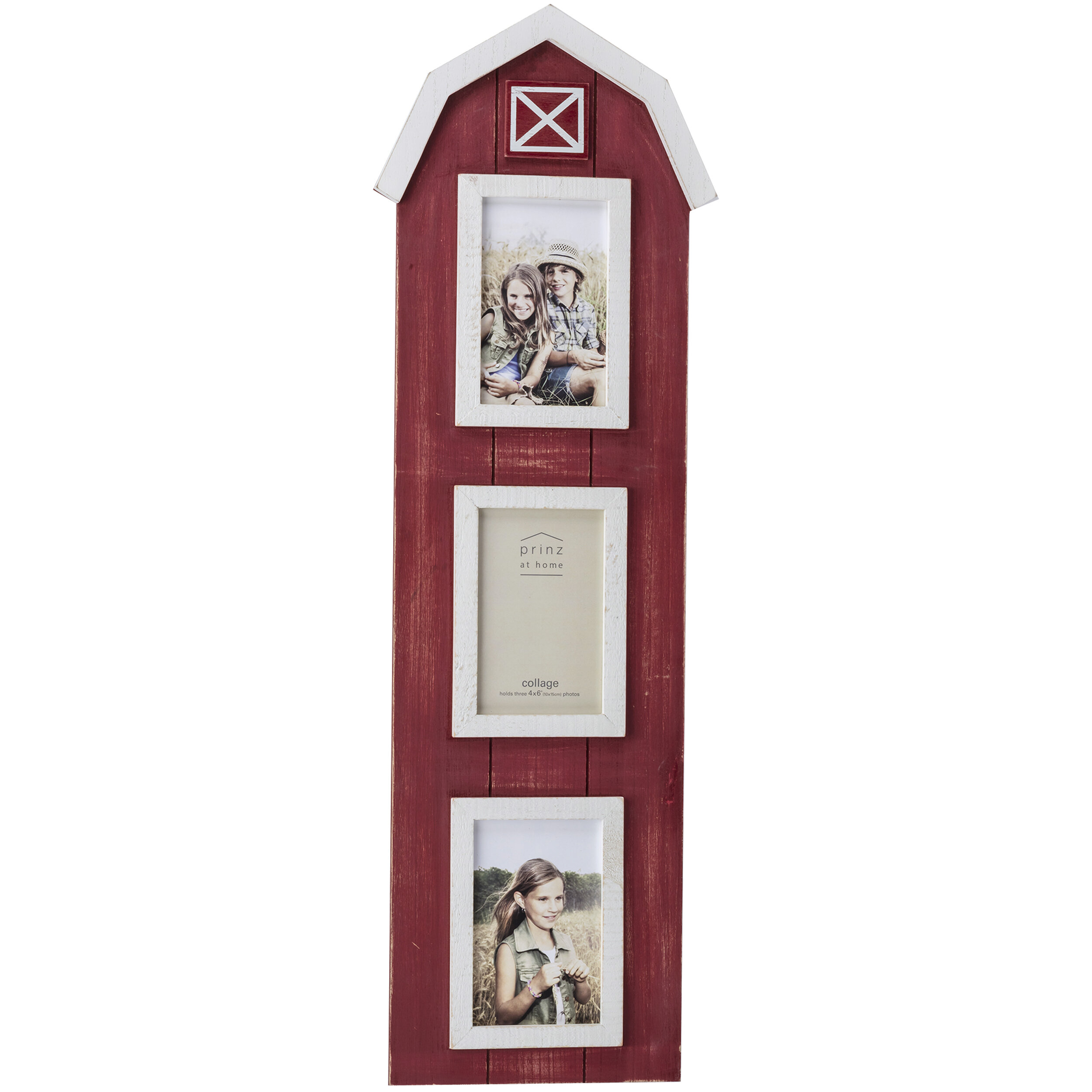 Prinz 3 Opening Barn Wood Collage Picture Frame | Wayfair