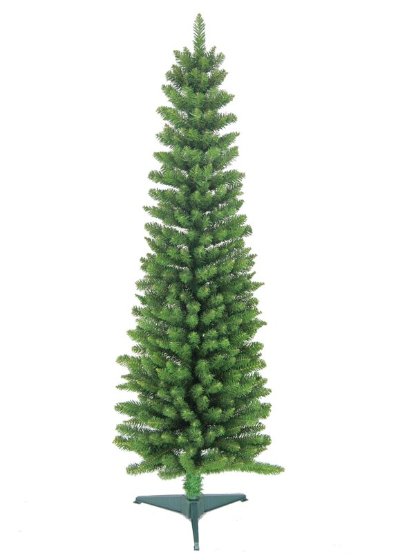 Jolly Workshop 6 39 Green Pencil Artificial Christmas Tree