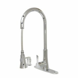 Dyconn Faucet Modern Kitchen Pull-Out Faucet With Soap Dispenser