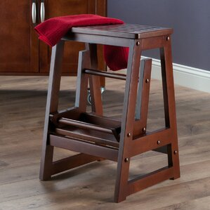 2-Step Wood Step Stool with 200 lb. Load Capacity & Step Stools Youu0027ll Love | Wayfair islam-shia.org